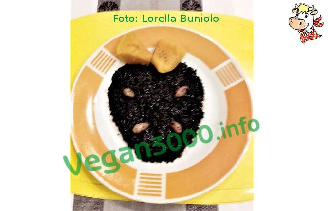 Foto numero 1 della ricetta Riso Venere Nero alla zucca