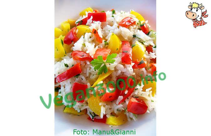 Foto numero 1 della ricetta Riso Basmati ai peperoni