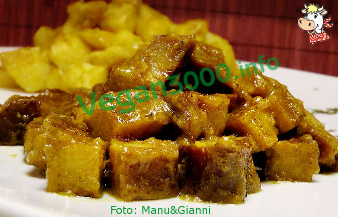 Foto numero 1 della ricetta Chunks of seitan with curry