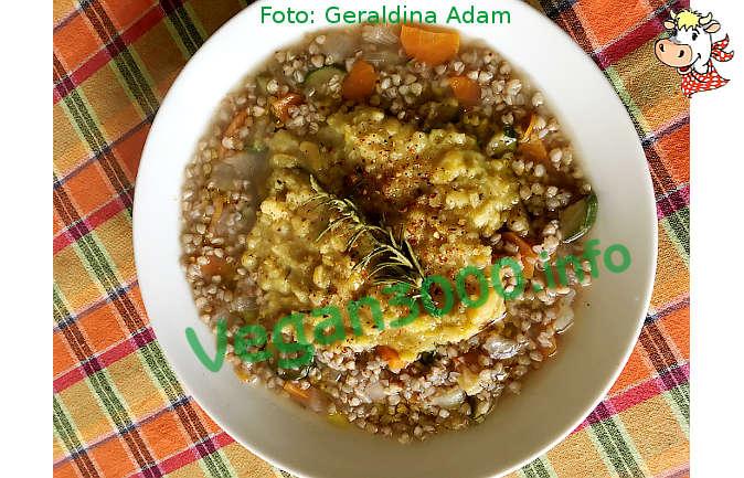 Foto numero 1 della ricetta Grano saraceno con le fave