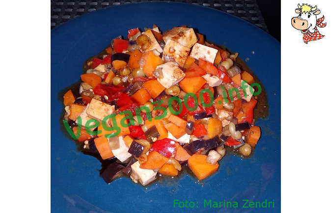 Foto numero 1 della ricetta Fried tofu with vegetables