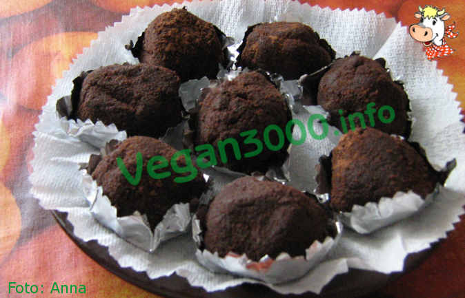 Foto numero 1 della ricetta Tartufi al cioccolato