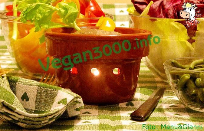 Foto numero 1 della ricetta Rustica di ceci alla  'bagna cauda'  vegan