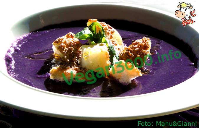 Foto numero 1 della ricetta Purple cream
