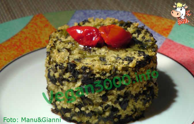 Foto numero 1 della ricetta Sformatini di miglio e cavolo nero