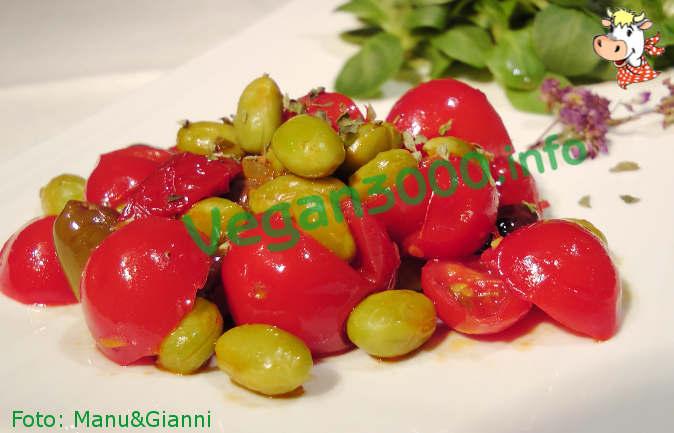 Foto numero 1 della ricetta Edamame soybeans Mediterranean style