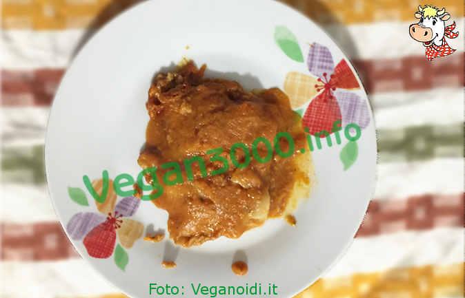 Foto numero 1 della ricetta Filetti di pesce vegan in salsa