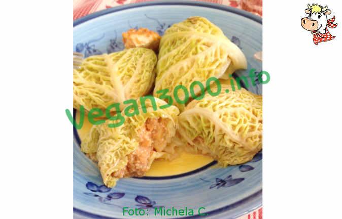 Foto numero 1 della ricetta Involtini di verza e okara