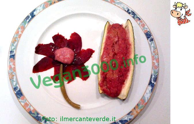 Foto numero 1 della ricetta Zucchine farcite con barbabietola rossa
