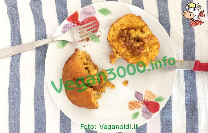 Foto numero 1 della ricetta Arancini di riso biovegani