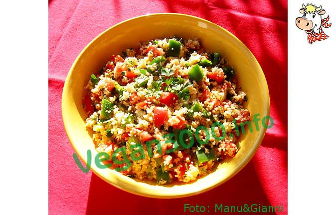 Foto numero 1 della ricetta Couscous e crudità in insalata