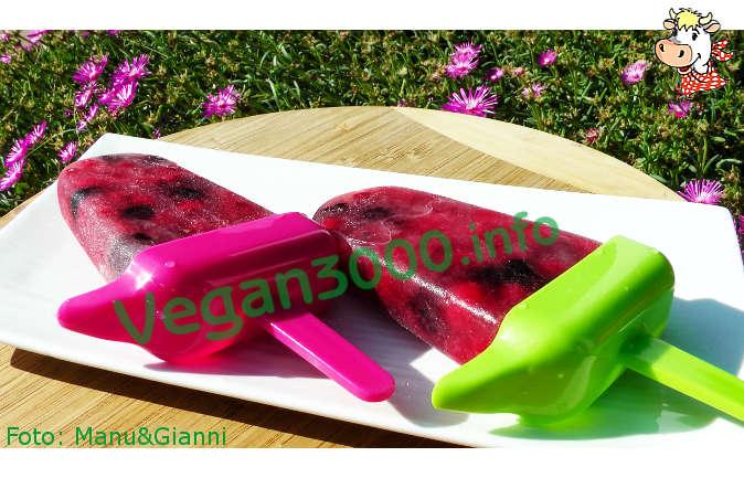 Foto numero 1 della ricetta 100% natural vegan icicles, no sugar