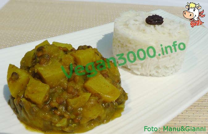 Foto numero 1 della ricetta Potato and lentil curry