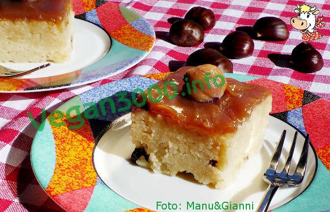Foto numero 1 della ricetta Torta di couscous con crema di marroni