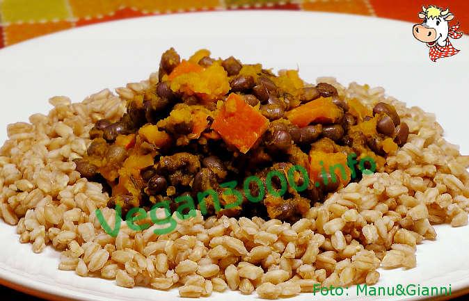 Foto numero 1 della ricetta Spelt with pumpkin and azuki