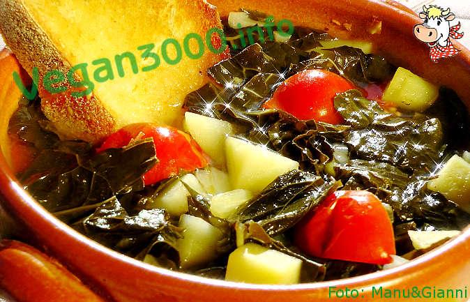 Foto numero 1 della ricetta Zuppa di cavolo nero e patate