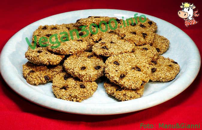 Foto numero 1 della ricetta Biscotti di avena – Oatmeal cookies