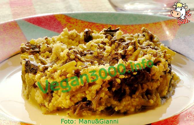 Foto numero 1 della ricetta Millet with turnip greens