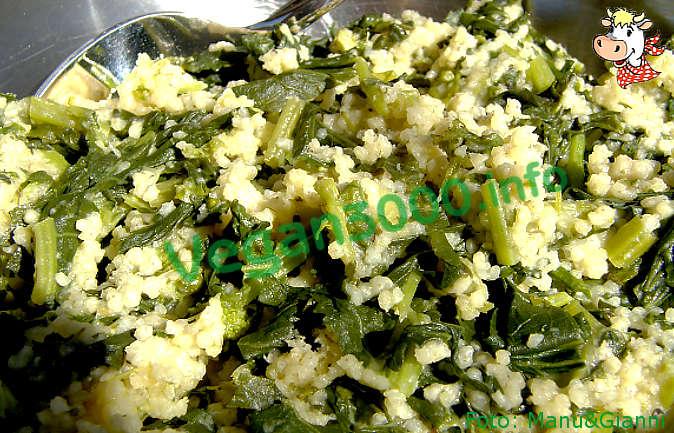 Foto numero 2 della ricetta Millet with turnip greens