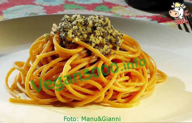 Foto numero 1 della ricetta Pasta with sage pesto