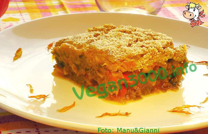 Foto numero 1 della ricetta Pumpkin and leek gratin