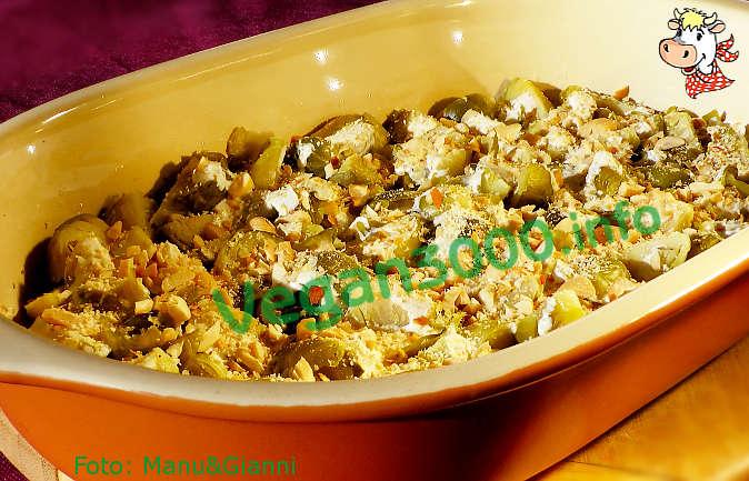 Foto numero 2 della ricetta Gratin di cavoletti con anacardi e arachidi