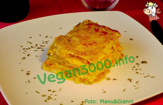 Foto numero 1 della ricetta Lasagne con zucca e porri