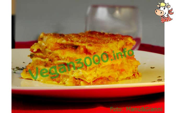 Foto numero 3 della ricetta Lasagne con zucca e porri