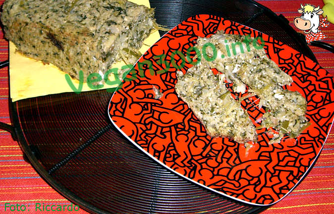 Foto numero 1 della ricetta Timbale with turnip greens