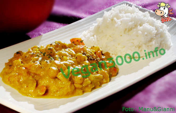 Foto numero 1 della ricetta Ceci e verdure all'indiana con riso Basmati