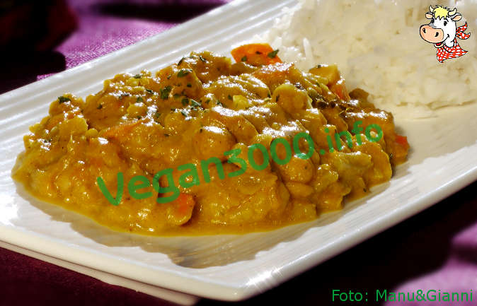 Foto numero 3 della ricetta Chickpeas and vegetables with Basmati rice