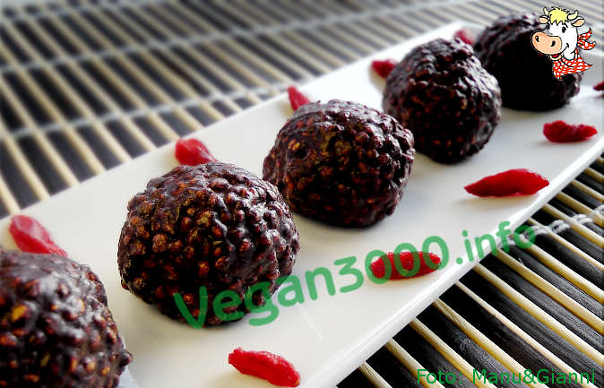Foto numero 2 della ricetta Choco-millet pralines