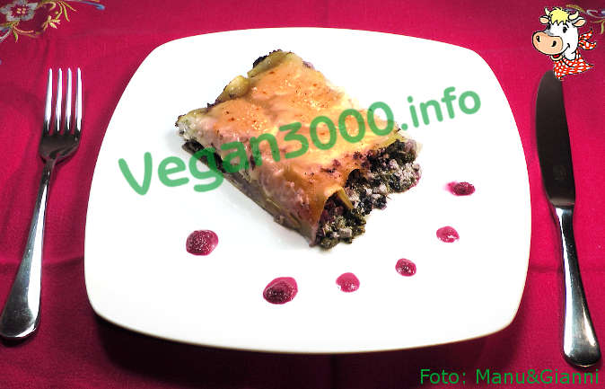 Foto numero 1 della ricetta Tofu-kale cannelloni