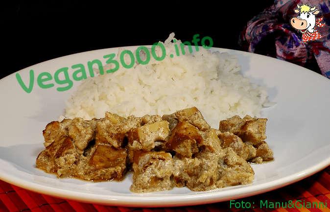 Foto numero 1 della ricetta Chunks of seitan Tandoori