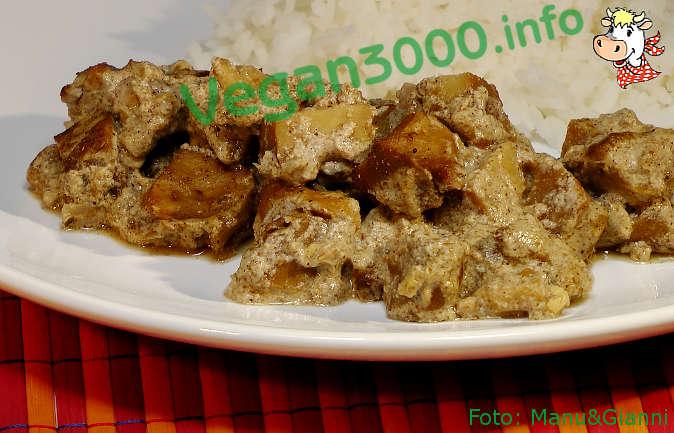 Foto numero 2 della ricetta Chunks of seitan Tandoori