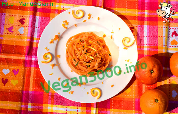 Foto numero 2 della ricetta Linguine all'arancia