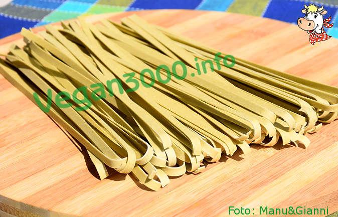 Foto numero 2 della ricetta Tagliatelle with asparagus sauce