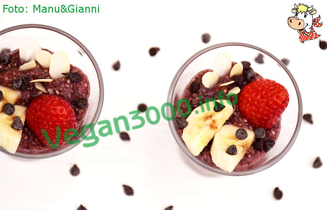 Foto numero 1 della ricetta Chia pudding with strawberries