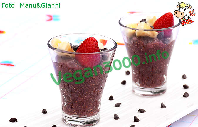 Foto numero 2 della ricetta Pudding di chia con le fragole