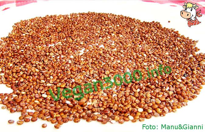 Foto numero 2 della ricetta Red quinoa with cherry tomatoes and onions