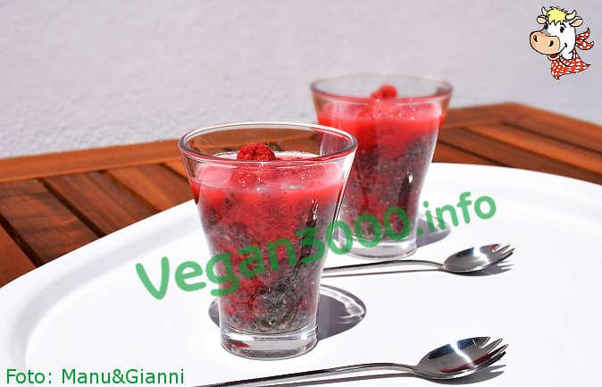 Foto numero 2 della ricetta Chia dessert with raspberries