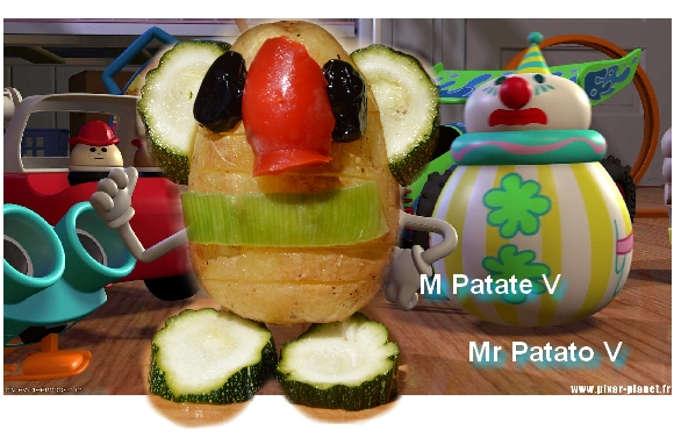Foto numero 1 della ricetta Il Signor Patato Vegan