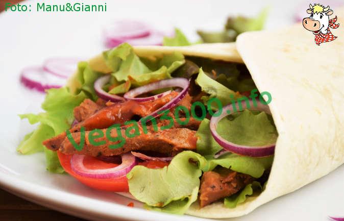 Foto numero 1 della ricetta Vegan kebab
