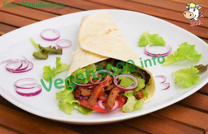 Foto numero 2 della ricetta Vegan kebab