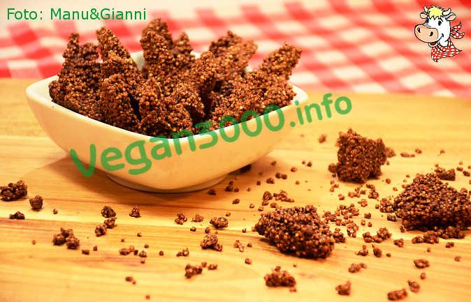 Foto numero 1 della ricetta Puffed amaranth with chocolate