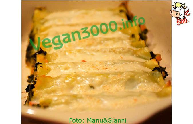 Foto numero 1 della ricetta Cannelloni con zucca e cavolo nero