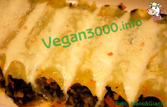 Foto numero 2 della ricetta Cannelloni con zucca e cavolo nero