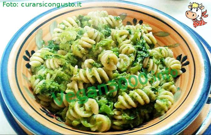 Foto numero 1 della ricetta Wholemeal fusilli with broccoli rabe