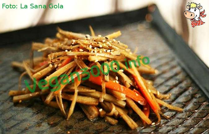 Foto numero 1 della ricetta Zuppa di kinpira
