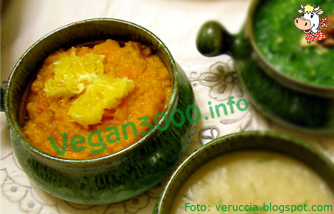 Foto numero 1 della ricetta Crema di carote all'arancia
